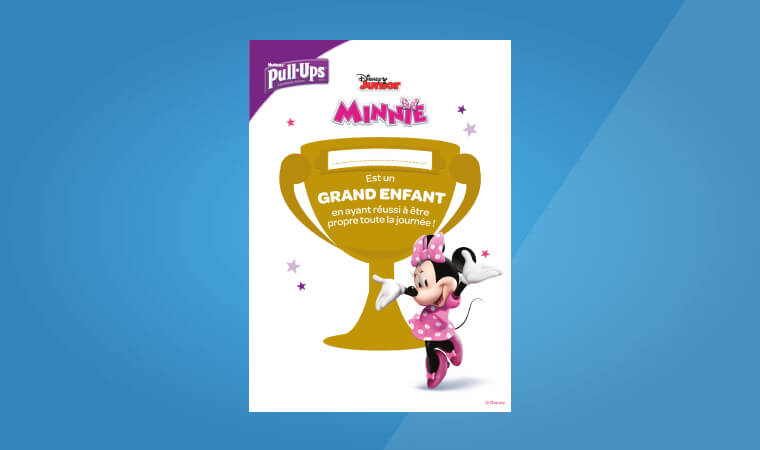 PUSH Pullups Diplome MINNIE